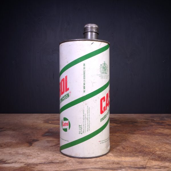 1960 Castrol Motor Oil Can