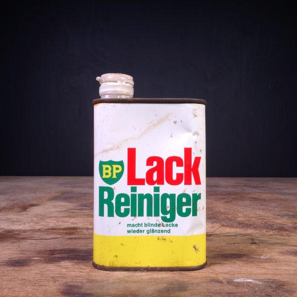 1960 BP Lack Reiniger Can