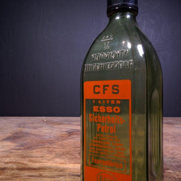 1956 Esso Sicherheitspetrol Petrol Bottle