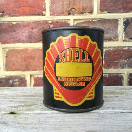 shell lubricating grease 1920 can