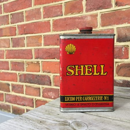 shell lucido olieblik, latta olio, bidon, huile, oeldose, oil, can