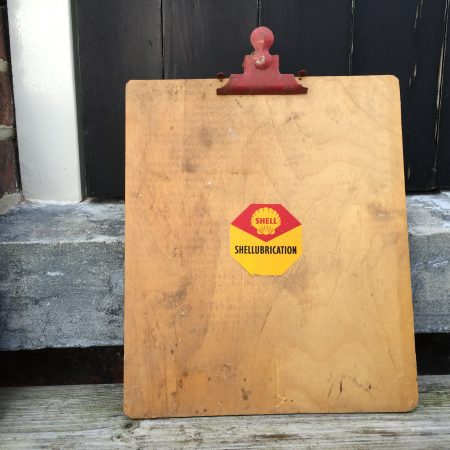 1950's Shell clipboard