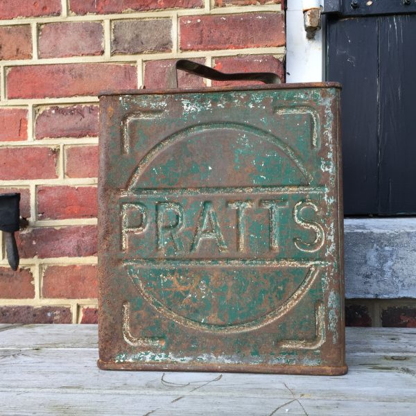 1930's Pratts petrol can
