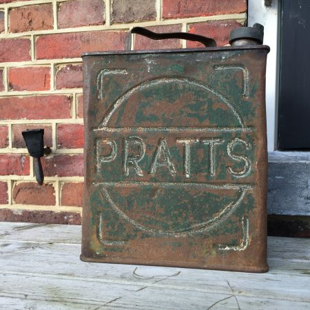 1931 Pratts petrol can