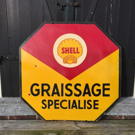 shell enamel sign plaque emaille bord