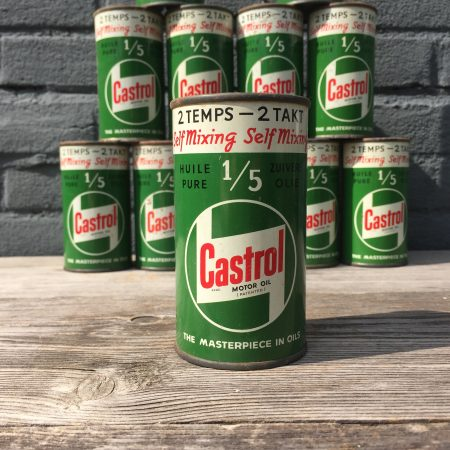 1950's Castrol 2 Takt / 2 Temps oil can