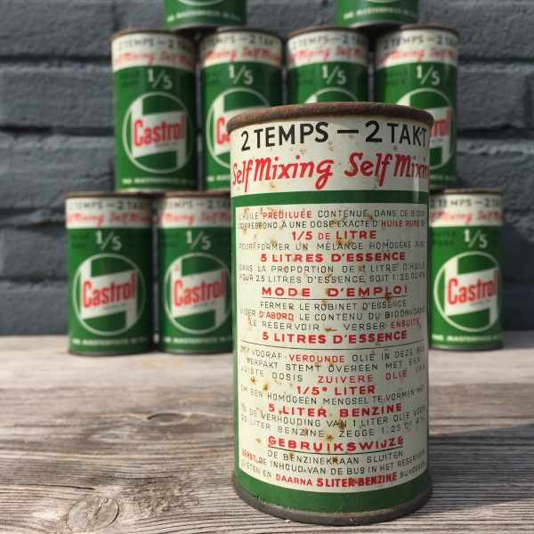 1950's Castrol 2 Takt / 2 Temps oil can