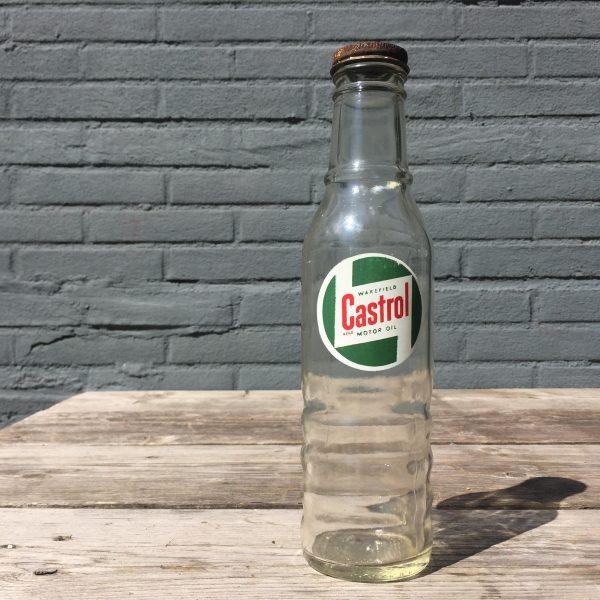 1950's Castrol Motor Oil bottle