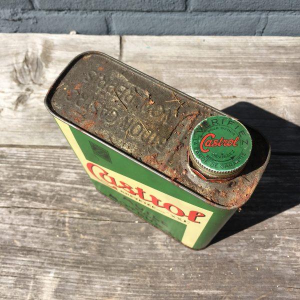 1930's Castrol Huile Pour Moteurs XXL oil can