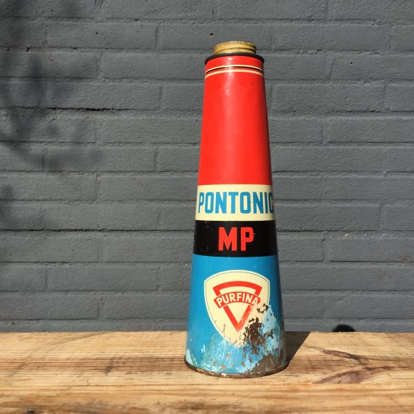 1940's Purfina Pontonic MP oil can