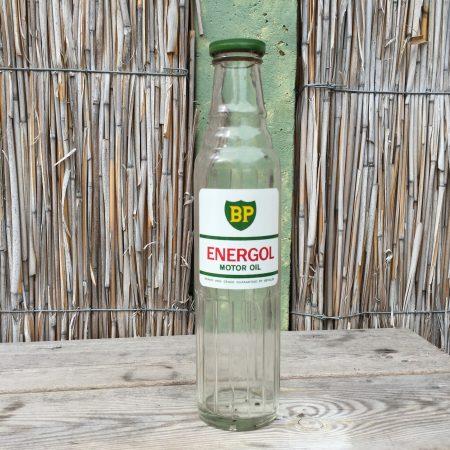 1950's BP Energol Motor Oil bottle