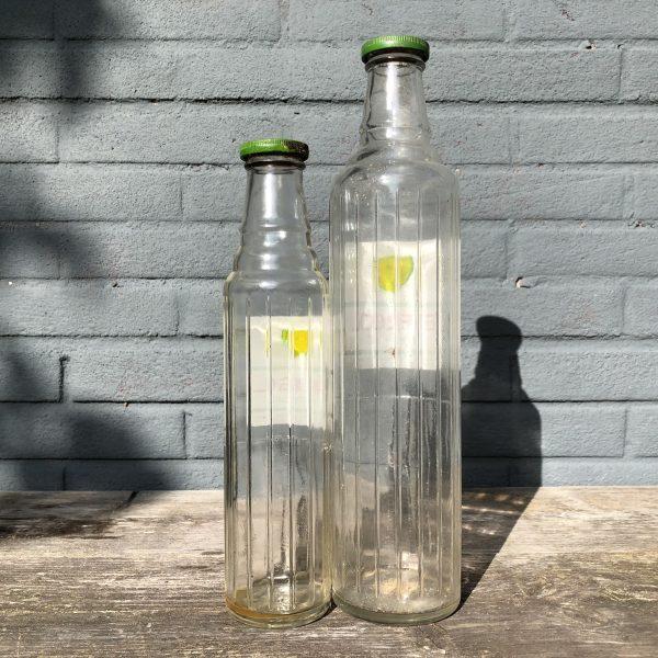 1950's BP Energol Motor Oil bottle set