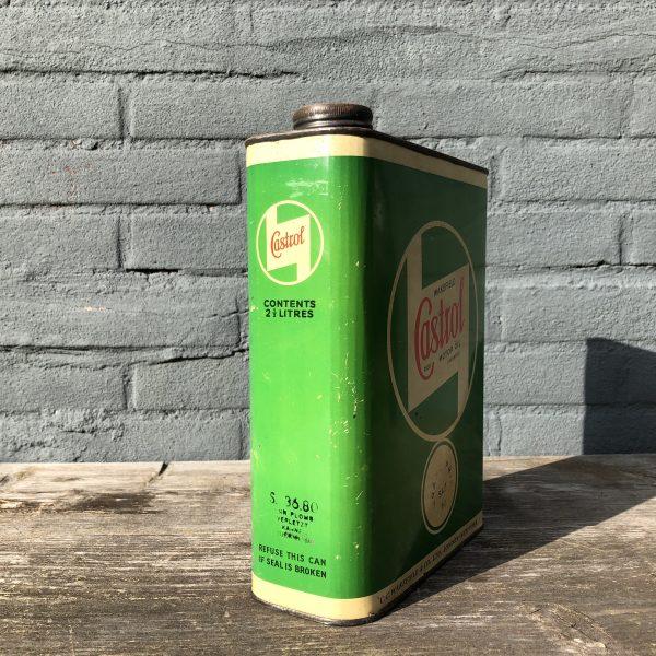 1940's Castrol Motor Oil Grand Prix oil can