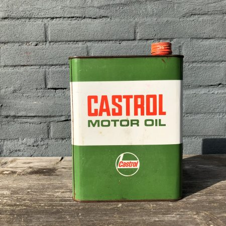 1960's Castrol Motor Oil can
