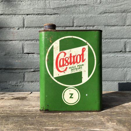 1940 Castrol Huile Pour Moteurs Z oil can