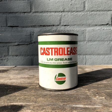 1970's Castrol Castrolease LM Grease can