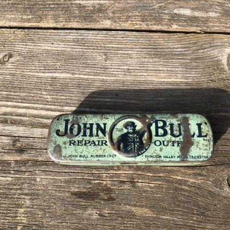1950's John Bull Repair Outfit tin