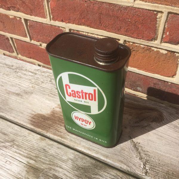 1950's Castrol Gear Oil Hypoy oil can