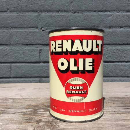 1950's Renault Huile Olie oil can