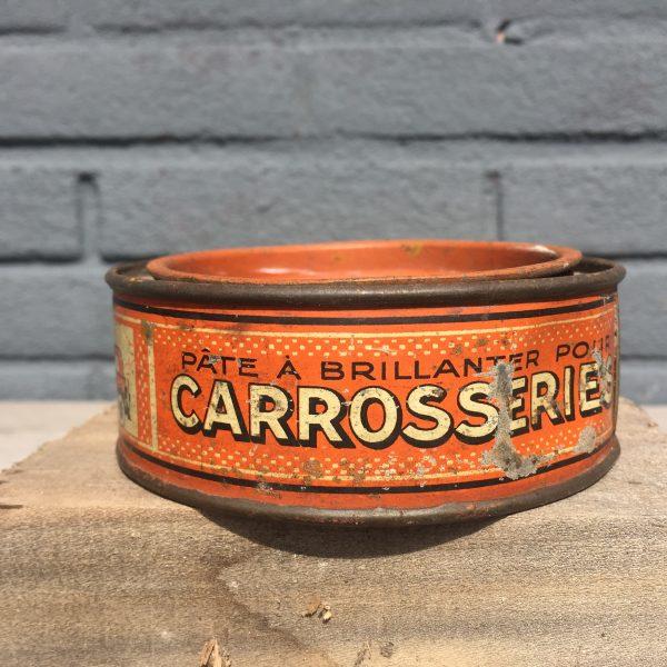 1930's Auto Miror polish tin