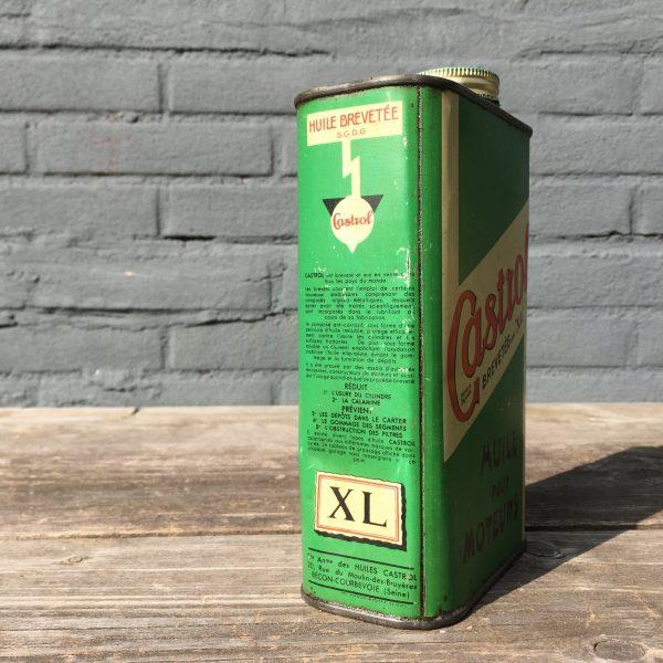 1930's Castrol Huile Pour Moteurs XL oil can