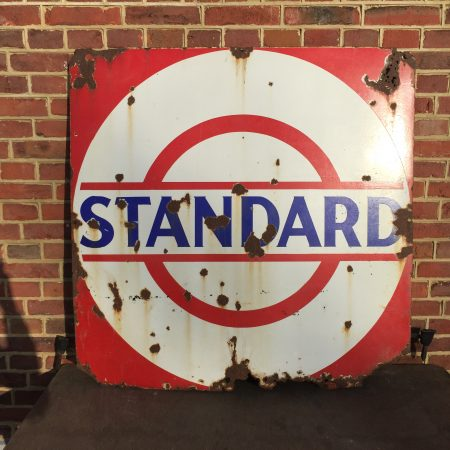 1930's Standard Motor Oil Enamel Sign