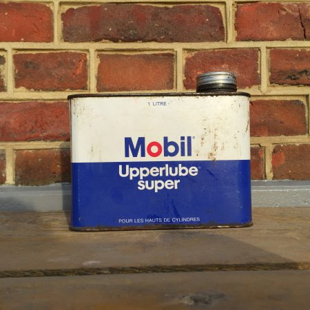 1970's Mobil Upperlube Super Oil can