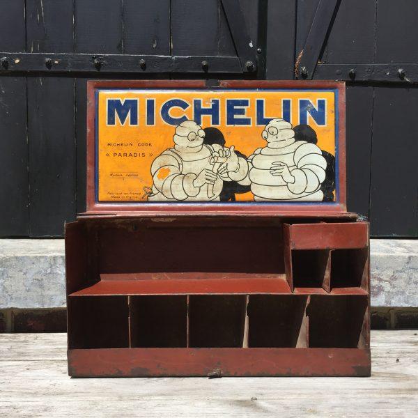 1920 Michelin Paradis repair box toolkit boite ancien