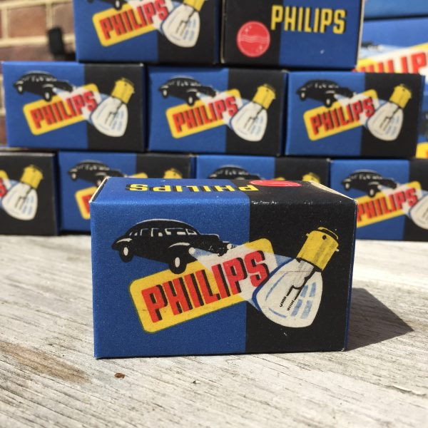 1950's Philips car light bulbs