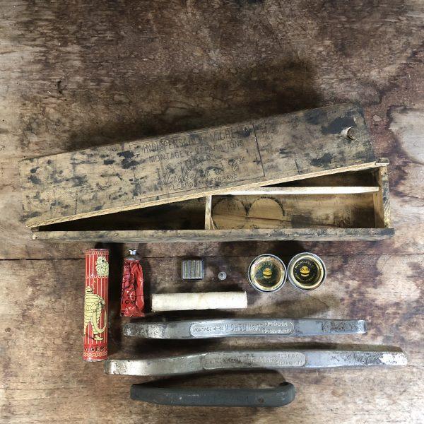 1920's Michelin 'Tidy' repair kit