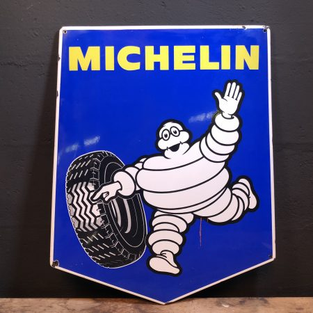 1960's Michelin enamel sign