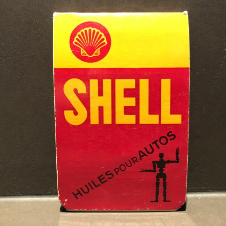 1930's Shell Huiles Pour Auto's notepad