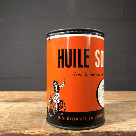 1950's Solex Olie Huile oil can