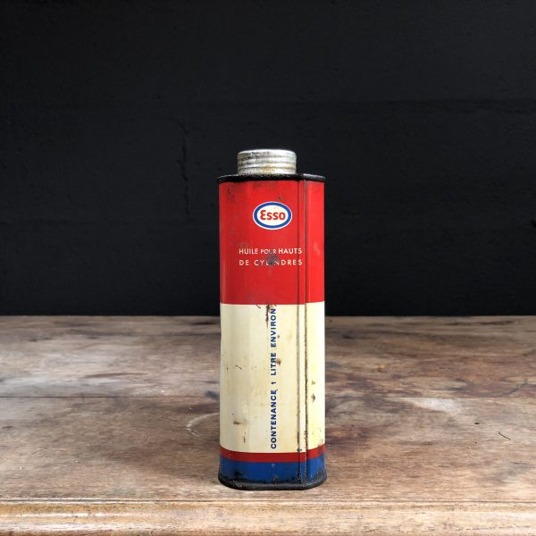 1950's Esso Upper Cylinder Lubricant oil can