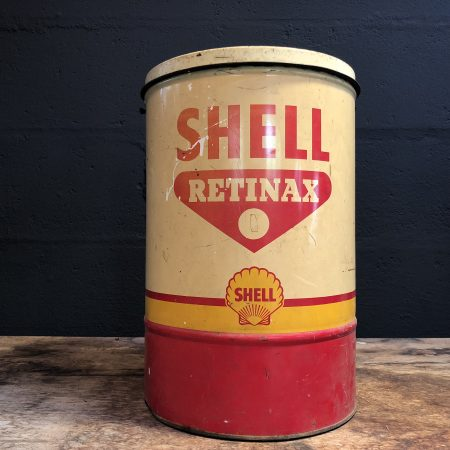 1950's Shell Retinax can
