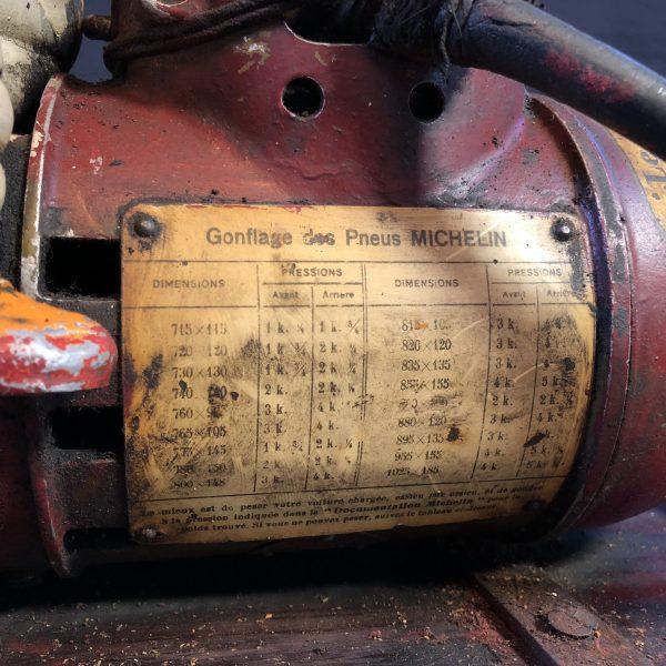 1920's Michelin compressor