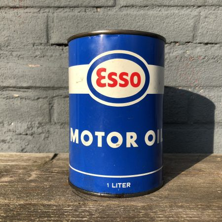1950's Esso Motor Oil can