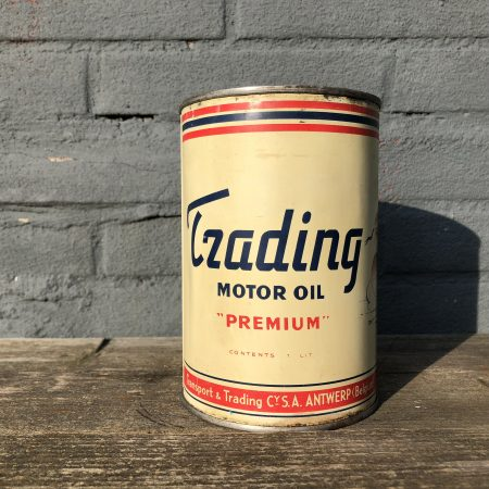 1950's Trading Motor Oil can