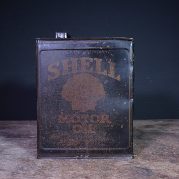 1920's Shell Motor Oil Can