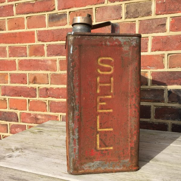 1930's Shell Motor Spirit petrol can