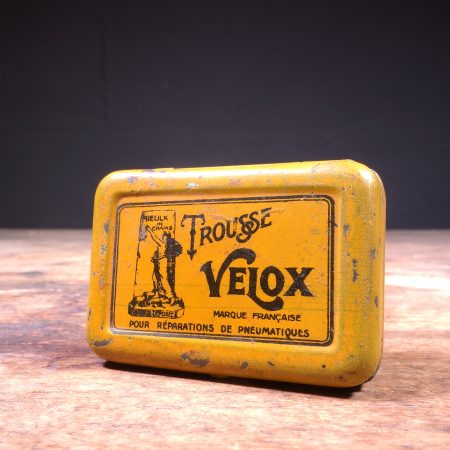 1930's Trousse Velox Tire Repair Tin