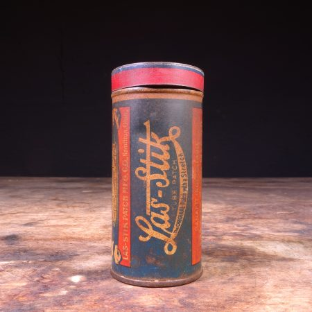 1940's Las-Stik Tube Patch Repair Tin