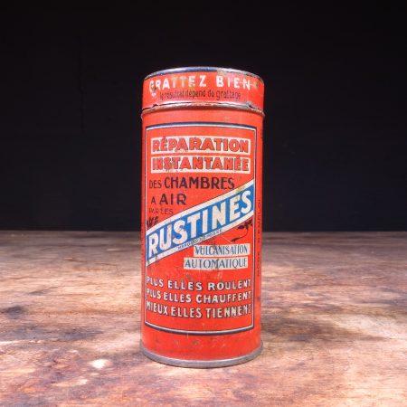 1940's Rustines Repair Tin