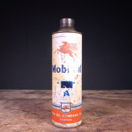 "1940's Mobiloil ""A"" Oil Can"