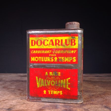 1950's Valvoline Docarlub Oil Can