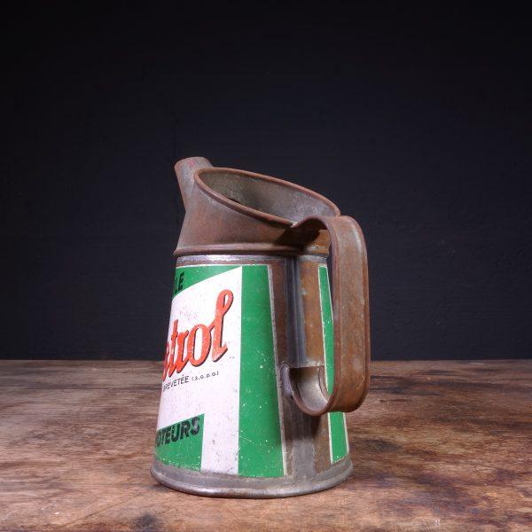 1953 Castrol Huile Pour Moteurs Oil Jug