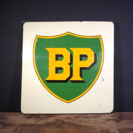 1940's BP enamel sign