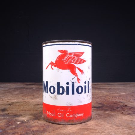 1950's Mobiloil Oil Can