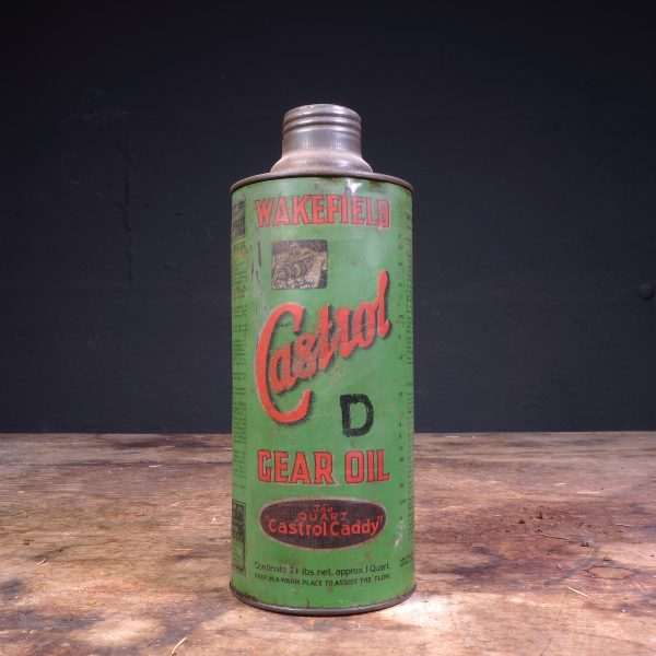 1930's Castrol Gear Oil D Can