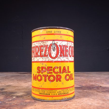 1950's Firezone Oil Special Motor Oil Can